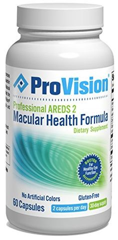 ProVision Professional AREDS 2 Macular Support Formula * Be sure to check out this helpful article.