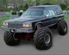 Red Neck Funeral Coach