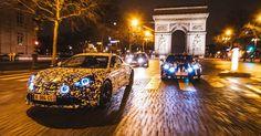 Alpine A120 Prototypes Explore The Streets Of Paris #Alpine #Alpine_A120