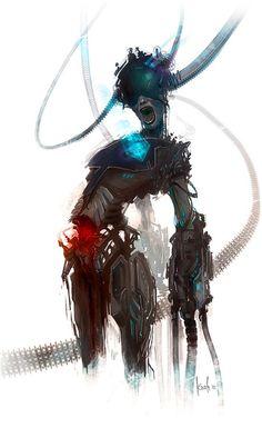 Cyberpunk, Future, Cyborg, Futuristic, Force Feedback!!!!
