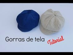 How to make a newsboy cap Hat Patterns To Sew, Sewing Patterns Free, Baby Patterns, Free Sewing, Sewing Tutorials, Free Pattern, Sewing Kids Clothes, Sewing For Kids, Baby Sewing