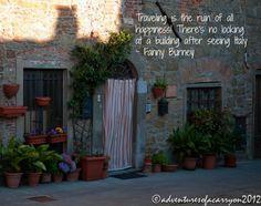 doorway in Tuscany ©pennysadler 2012