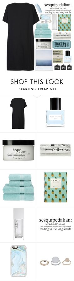 """117 ; tell your heart to beat again, close your eyes and breathe it in"" by faith-and-metanoia ❤ liked on Polyvore featuring Jack Spade, Marc Jacobs, philosophy, Christy, NARS Cosmetics, Casetify and Topshop"