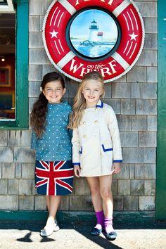 Union Jack Flag Skirt