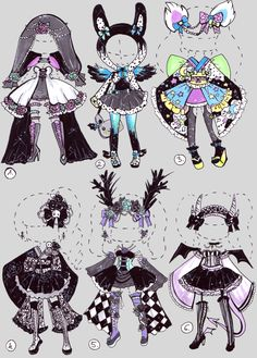 SOLD- GothicOutfit by Guppie-Adopts on DeviantArt