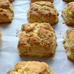 Baking Powder Biscuits. Recipe from Martha Stewart. The 2 cups flour to 1 stick of butter ratio produces biscuits that don't even need butter. Mm. Mm. Mm.