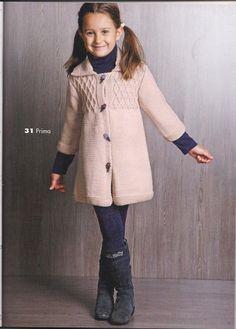Knitting Wool, Knitting For Kids, Baby Knitting, Crochet Girls, Knit Crochet, Victorian Coat, Girls World, Knit Dress, Kids Fashion