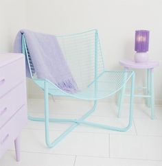 Aqua+and+Lilac+in+the+bedroom My New Favourite Blog | Mimmistaff Crochet Lovelies and Painted Furniture Delights!