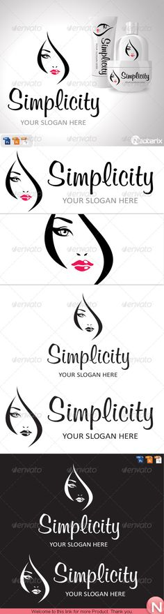 Simpalicity — Photoshop PSD #beauty salons #girl • Download here → https://graphicriver.net/item/simpalicity-/7113635?ref=pxcr