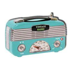 Retro style radio argos