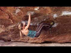 (People connecting with the land/rock) Lynn Hill Bouldering hueco TX.... someone whom i respect in climbing... she was one of the first females out there doing her thing cause she loves it....not for anyone or any attention... pure passion!!