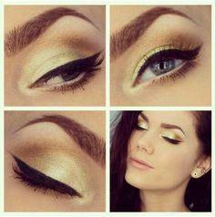 Linda Hallberg- glowing eye makeup for fall