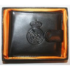 Shop Real Madrid FC Embossed Crest Leather Wallet in a Gift Box BLACK at BalliGifts.com the # 1 Online Store for Cool Gifts. Free Shipping order $19.99+ USA Real Madrid Football Club, Pin Badges, Cool Gifts, Leather Wallet, Tote Bag, Free Shipping, Usa, Store, Baby