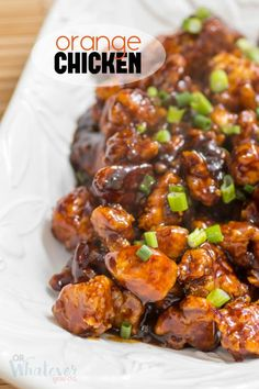 Easy Orange Chicken that's better than takeout!