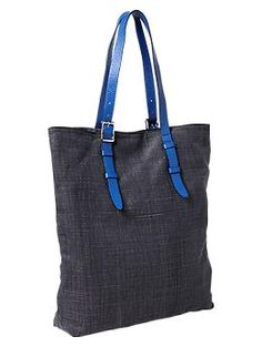 Canvas neon-trim tote | Gap, $44.95