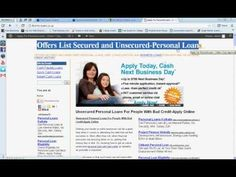 Long Term Loans With Bad Credit-Unsecured Personal Loan Lenders UK
