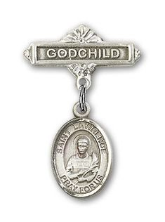 ReligiousObsession's Sterling Silver Baby Badge with Baptism Charm and Godchild Badge Pin *** Check out this great product. (This is an affiliate link) Confirmation Gifts, Baptism Gifts, Christening Gifts, Pet Gifts, Baby Gifts, First Communion Gifts, Military Gifts, Godchild, Memorial Gifts