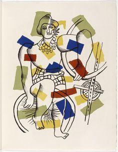 Album Le Cirque. Léger , 1950.