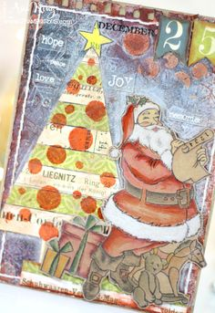 Under a creative spell: Letter To Santa From Art Anthology And Stampendous