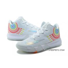 Nike Kyrie 4 Mens Basketball Shoes White Orange Best