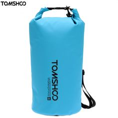 TOMSHOO 10L/20L Waterproof Dry Bag Pouch for Outdoor Drifting Rafting Canoe Swimming Camping Hiking Snowboarding