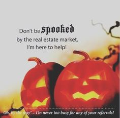 Dont be spooked by the real estate market! Brad Ruckart Real Estate Group is he - Mortgage Information - Dont be spooked by the real estate market! Brad Ruckart Real Estate Group is here to help! Real Estate Memes, Real Estate Gifts, Real Estate Career, Selling Real Estate, Real Estate Investing, Holiday Market, Real Estate Marketing, Marketing Ideas, Media Marketing