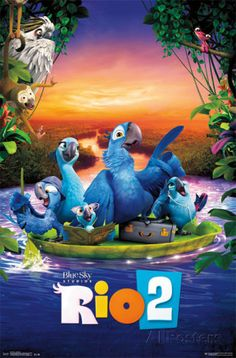 Rio 2 - One Sheet poster