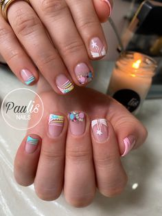 Holiday Nails, Veronica, Nail Art Designs, Beauty, Pretty Nails, Work Nails, Amor, Decorations, Pretty Toe Nails