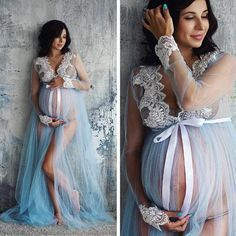 Maternity Gown Photography, Maternity Dresses For Photoshoot, Maternity Gowns, Stylish Maternity, Maternity Pictures, Pregnancy Photography, Romantic Maternity Photos, Photography Ideas, Pregnancy Outfits