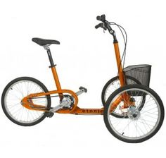 ETNNIC Tribike Low Step Adult Tricycle