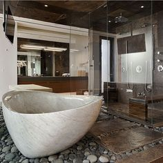 """Amazing Modern Bathroom. Follow @luxury for more!  cc: unknown"""