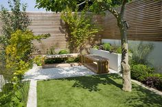 Modern, minimal, neutral colours with seasonal accents by Outdoor Space Designed for Living, via Flickr