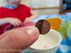 Polishing Pennies:  A Fun Montessori Activity #weteach