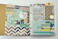 this post shows all the goodness inside!!  Confetti, triangles, pockets, fold out pages....fantastic!