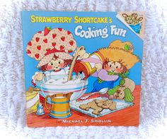 A wonderful 1980 Strawberry Shortcake book titles Cooking Fun in fantastic condtion for its age with only minimal/minor flaws. To save you money