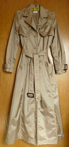 new product 08229 680cb CAMBRIDGE Pink Rain Trench Coat Jacket Size 10 Vintage in ...