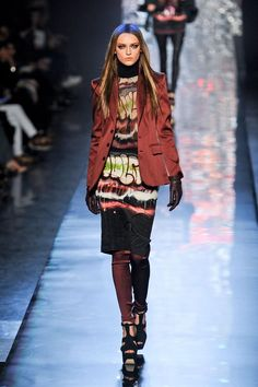 Jean Paul Gaultier fall winter 2012-13. Maybe I am inspired by the a8fc7dfeab4