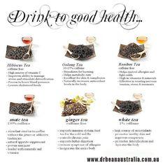 Drink to good health... #herbal #tea #drinks #health #benefits #use #enjoy