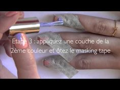 Tuto nail art : Triangle Manucure par Absolutely Glamourous @Absolutely Glamourous