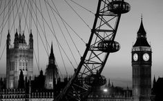 Even in black and white London is beautiful. Do you agree?
