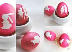 Casa de Retalhos: Ovinhos de Páscoa ♥ Silhouette Easter eggs