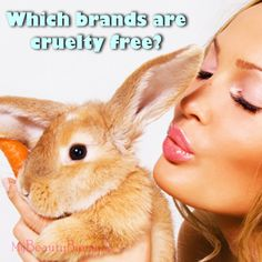 Which brands are cruelty free and not tested on animals? Click through to find out!