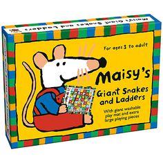 Buy Paul Lamond Maisy Mouse Giant Snakes & Ladders Online at johnlewis.com