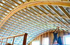 Inside+Quonset+Hut+Homes | Earth Sheltered Reinforced Quonset Buildings