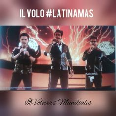 Los @latinamas se pusieron de pie con #GrandeAmore @ilvolomusic Lo hicieron increíble!!!!  @gianginoble11 @ignazioboschetto @barone_piero  #IlVolo #LatinAMAs #DolbyTheatre #Instavideo #Hollywood #IlVolovers #ilvoloversmundiales