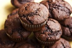 Healthy Recipe From Joy Bauer's Food Cures Chocolate Muffins Chocolate Protein Muffins, Chocolate Pumpkin Muffins, Chocolate Cake Mixes, Healthy Muffins, Chocolate Chips, Healthy Chocolate, Delicious Chocolate, Joy Bauer Recipes, Zucchini Muffin Recipes