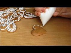 Jana Melas Pullmannová: Sneh na zdobenie medovníkov Gingerbread Cookies, Christmas Cookies, Meal Planner, Food And Drink, Ice Cream, Sugar, Blog, Sneh, Youtube