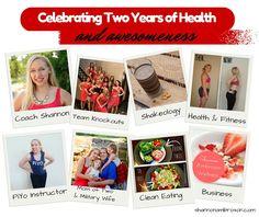 Shannon Ambroson Wellness: Celebrating Two Years of Coaching!