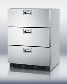The days of the space-hogging fridge may be numbered. Under-the-counter refrigerator drawers–almost all of which come with a choice of stainless-steel- or