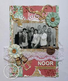 Noor! Design Scrapbooking Challenge